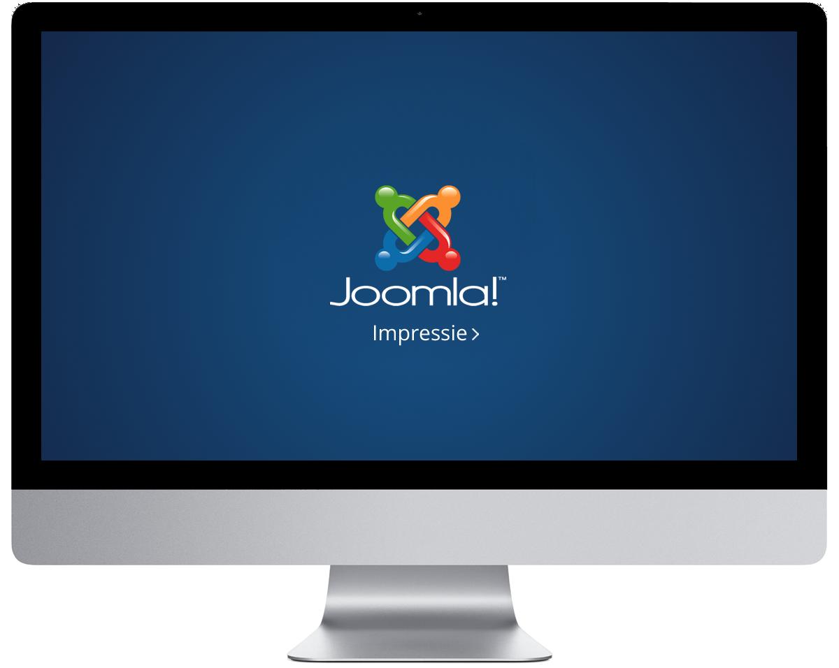 Joomla impressie