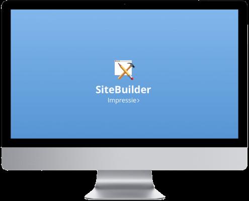 Sitebuilder impressie