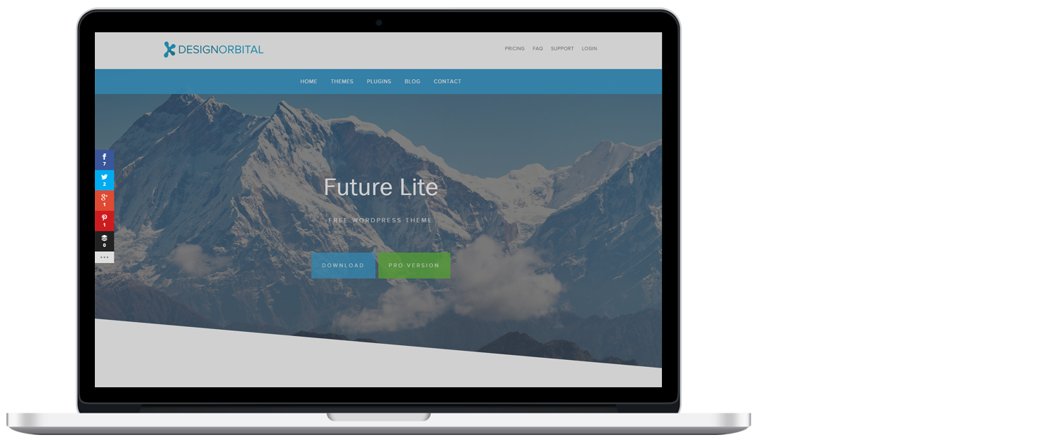 WordPress template 3