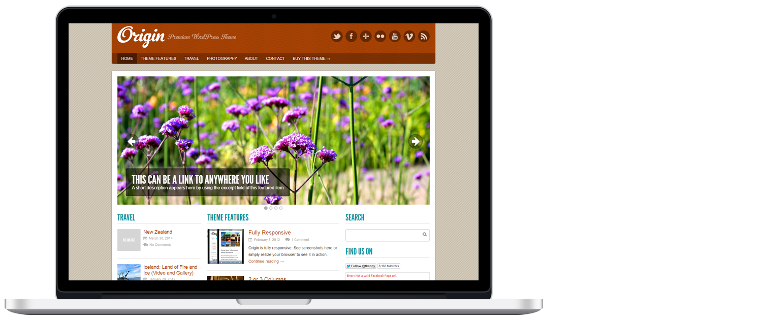 WordPress template 5